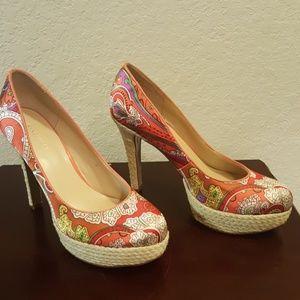 Sexy Paisley Heels.